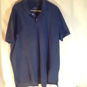 St John's Bay | Polo Shirt. | SizeXXL | Blue